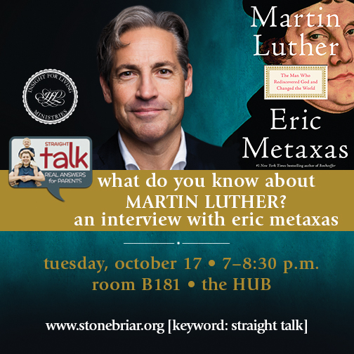 Eric Metaxas Interview by Chuck Swindoll
